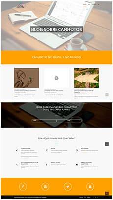 Criação de sites - Serviço de Design Gráfico - Brasília - Canhotos