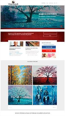 Criação de sites - Serviço de Design Gráfico - Brasília - Professor Costerus
