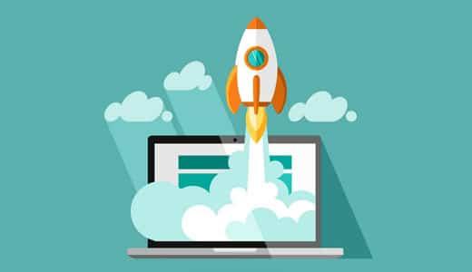 sites empresariais com wordpress - Desempenho