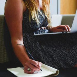Escrevendo textos para blog