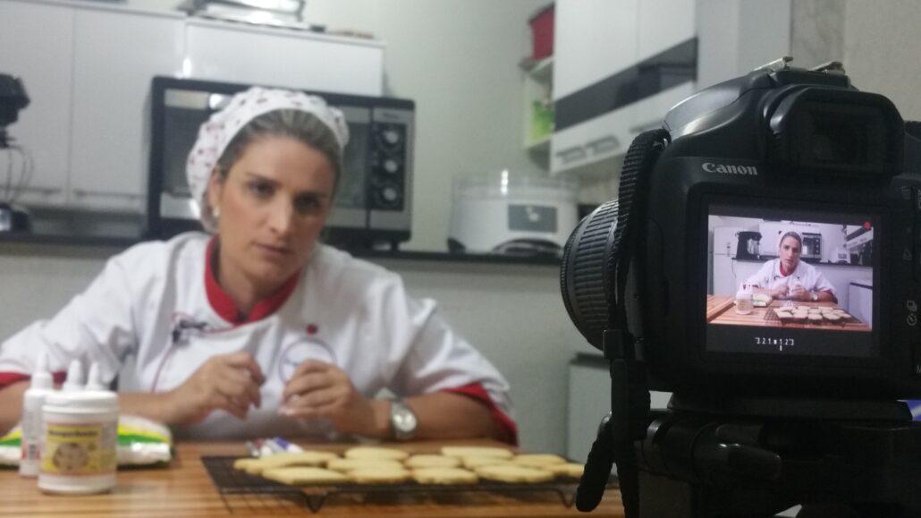 Produção de Cursos Online - Biscoitos Decorados - Rayane Tolentino