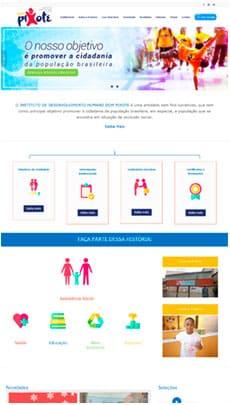 Criação de sites - Serviço de Design Gráfico - Brasília - Dom Pixote