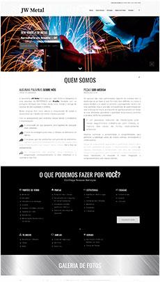 Criação de sites - Serviço de Design Gráfico - Brasília - JW Serralheria