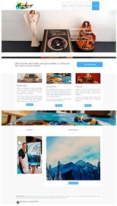 Criação de sites - Serviço de Design Gráfico - Brasília - Padre Norbey