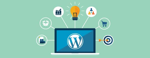 sites empresariais com wordpress