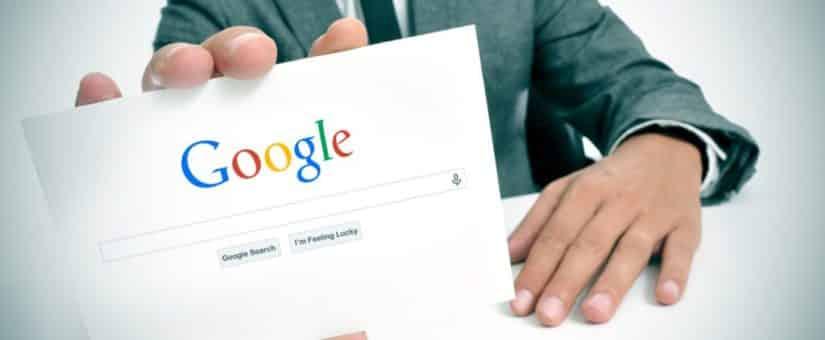 seja encontrado no Google