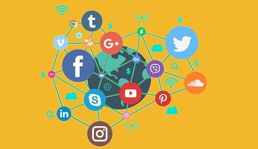 tráfego em redes sociais