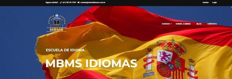 mbms idiomas - curso de espanhol